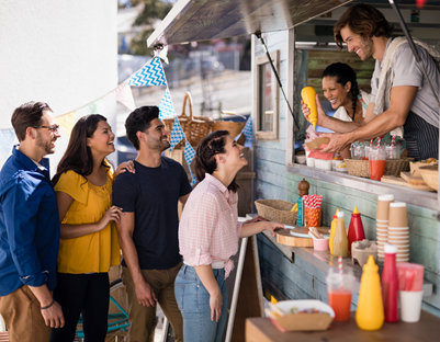 food truck company business plan3 customer lineup