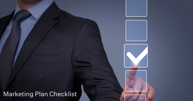 Marketing plan checklists.